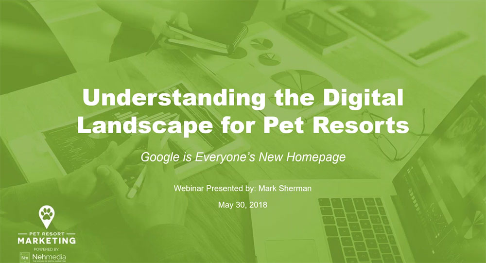 Google My Business for Pet Resorts