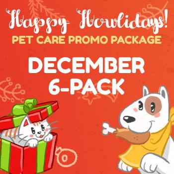 Happy Howlidays December 6 Pack