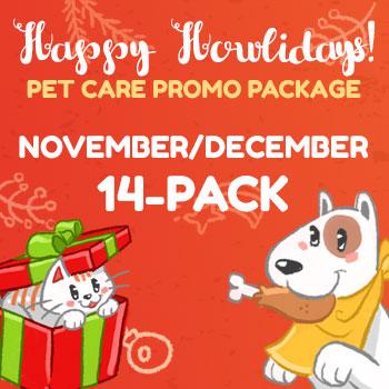 Happy Howlidays November-December 14-Pack