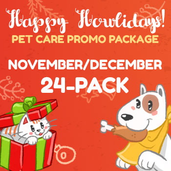 Happy Howlidays November-December 24 Pack