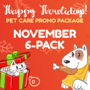 Happy Howlidays November 6 Pack