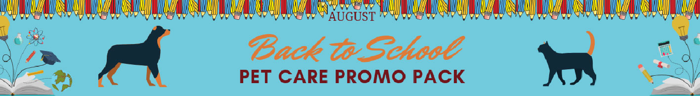 August 2019 promo pack
