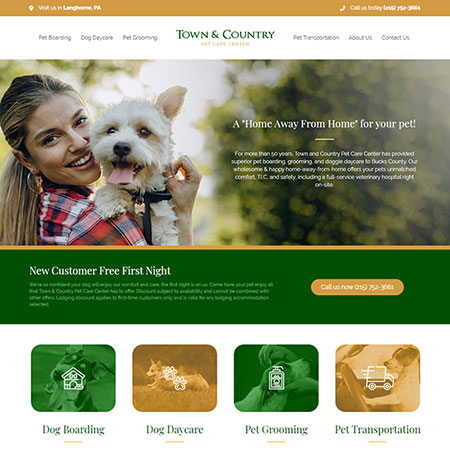 Town and Country Website