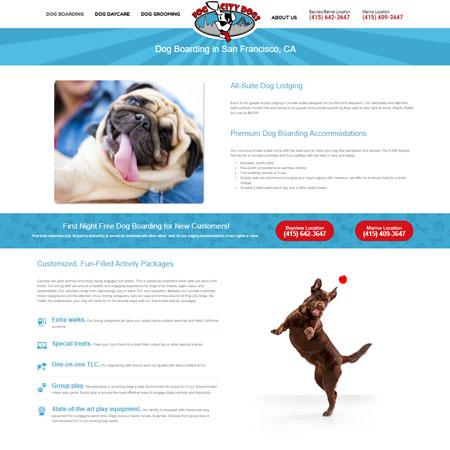 Fog City Dogs Website