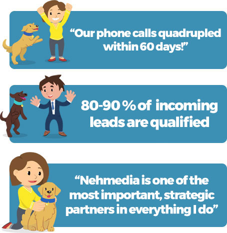 Nehmedia is one of the most important, strategic partners in everything I do