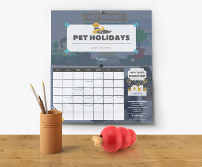 2020 Pet Holidays Calendar