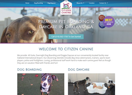 Citizen Canine Website
