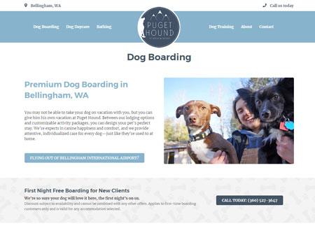 Puget Hound website